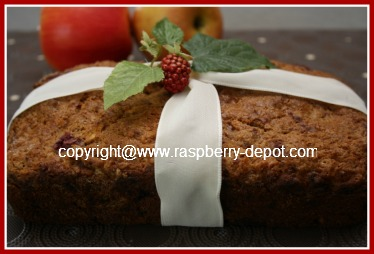 Raspberry Apple Bread