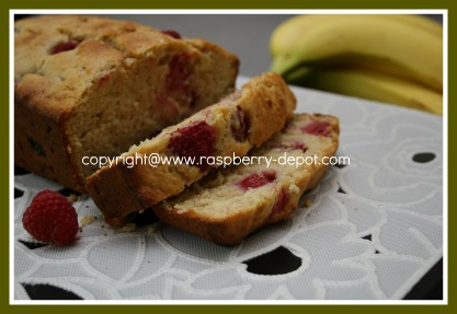 Raspberry Banana Bread Recipe