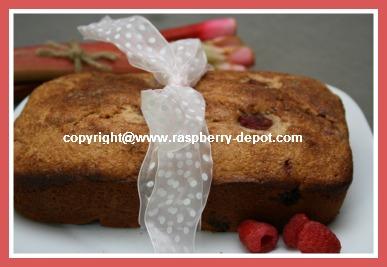 Raspberry Bread Quickbread