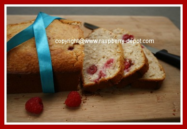 Yummy Homemade Bread with Raspberries!