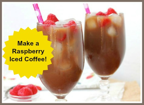 Raspberry Iced Coffee Recipe