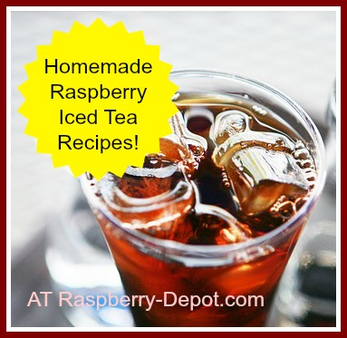 Homemade Raspberry Iced Tea Recipes