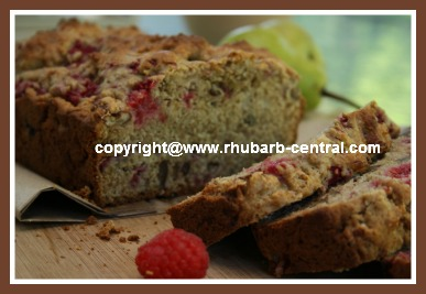 Raspberry Quick Bread Recipe - make a raspberry bread with no yeast