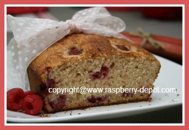 Raspberry Rhubarb Bread Recipe Picture