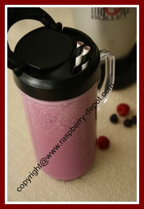 Raspberry Smoothie with Milk How to Make a Raspberry or Strawberry Shake