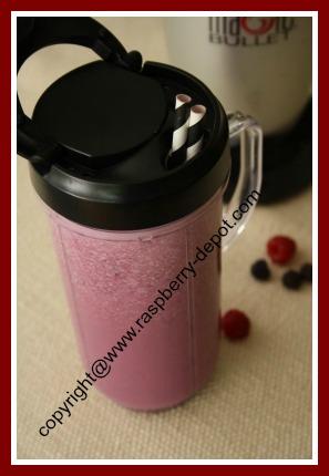 Raspberry Smoothie with Milk How to Make a Raspberry or Strawberry Shake