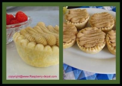 Raspberry Tarts with Maple