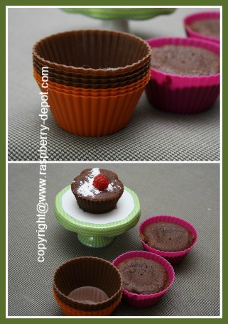 Baking Muffins in Silicone Baking Cups