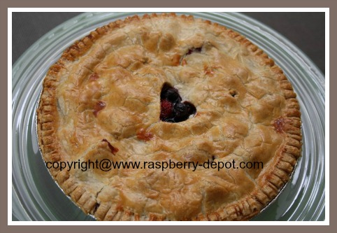 Strawberry Raspberry Blueberry Pie Recipe