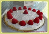 Raspberry Lemon Cream Pie with Crumb Crust