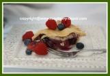 Raspberry Apple Blueberry Pie