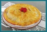 Raspberry Rhubarb Pie