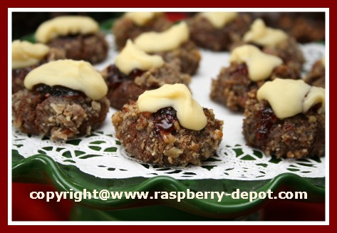 White Chocolate Thumbnail Cookies Recipe