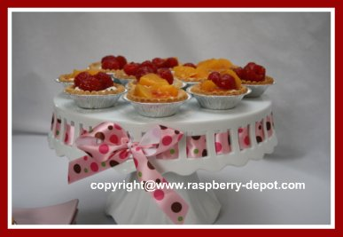 Fruit Tarts with Cream Cheese Filling