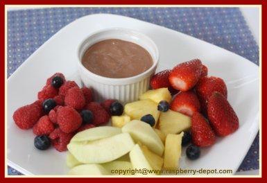 Homemade Chocolate Fruit Dip for Fruit Tray /Platter
