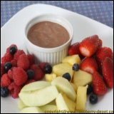 Thanksgiving Day Recipe Idea Chocolate Fruit Dip