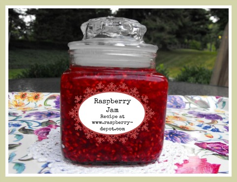 Easy Cooked /Canned Raspberry Jam Recipe Image