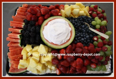 Fruit Tray for a Crowd How to Images