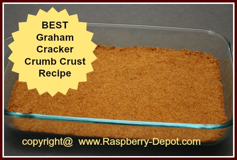 Crumb Crust Recipe in a 9 x 13 dish
