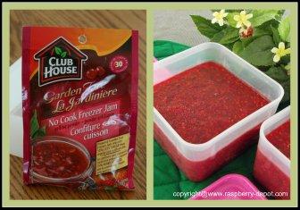Favourite and Best Raspberry Freezer Jam, No-Cook Homemade Raspberry Jam