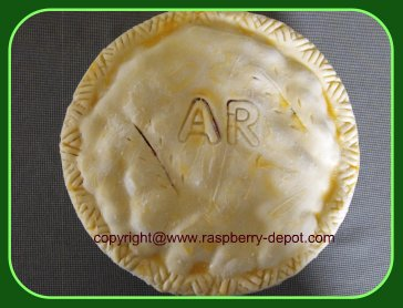 How to label uncooked pies / Pie tips