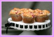 Raspberry Apple Muffins
