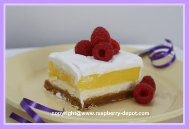 Picture of Mother's Day Dessert Recipe - Creamy Lemon Squares
