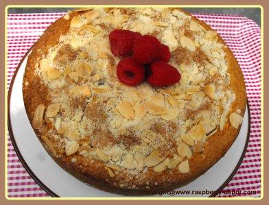 Almond Raspberry Coffee Cake Recipe