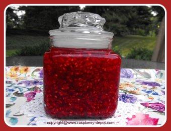 Raspberry Freezer Jam Recipe Made with Red or Black Rasapberries