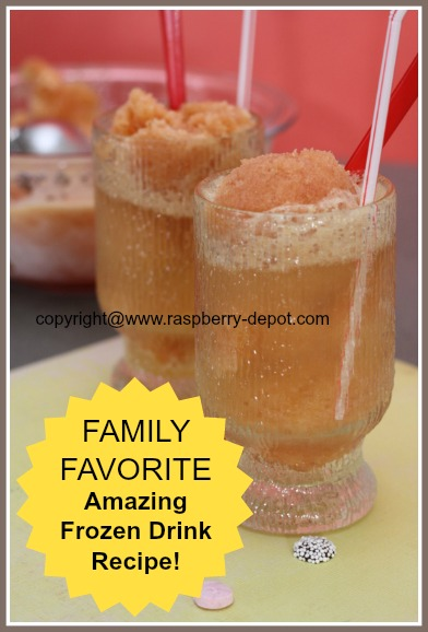 Recipe of Raspberry Frozen Drink - Homemade Raspberry Slush Recipe