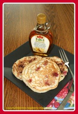 Best Easy Raspberry Pancake Recipe /Homemade