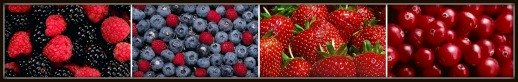 Berries are Examples of Foods High in Antioxidants