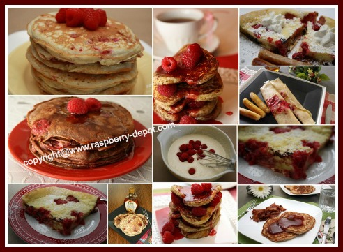 Best Pancake Day Recipes with Raspberries