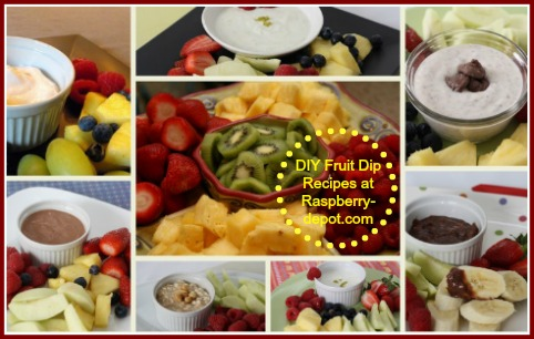 DIY Fruit Dip Recipes at RaspberryDepot.com