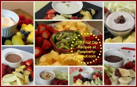DIY Fruit Dip Recipes at RaspberryDepot.com