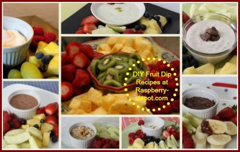 Fresh Fruit and Dip