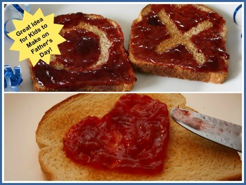 Easy Recipe Idea for Kids to make on Father's Day