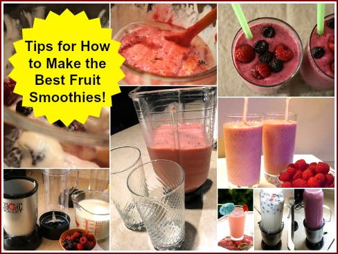 Tips for Making Fruit Smoothies at Home with a Blender