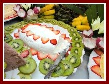 Ideas for Garnishing with Fruit