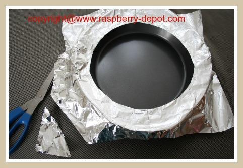DIY Pie Crust Shield