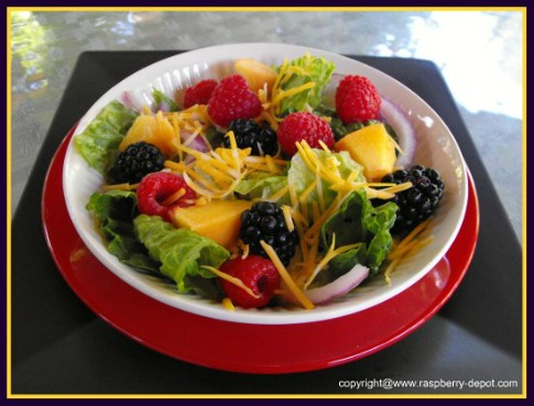 Romaine Lettuce Salad with Fruit Recipe