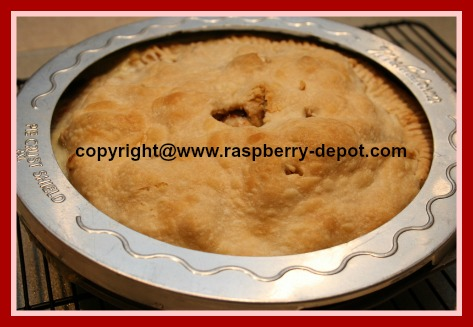 Picture of Mrs. Andersons Pie Crust Shield to protect pie edges