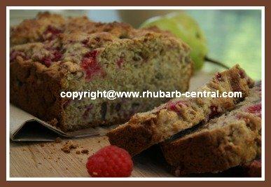 Raspberry Quick Bread Recipe - make a raspberry bread with no yeast