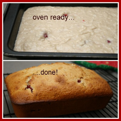 Making Raspberry Bread at Home, Recipe for