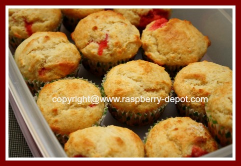 Recipe Raspberry Jam Muffins