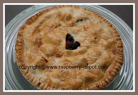 Strawberry Raspberry Blueberry Pie Recipe