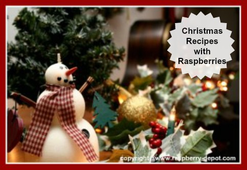 Christmas Recipes Using Raspberries